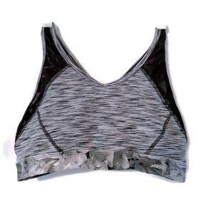 Avia black/white sports bra
